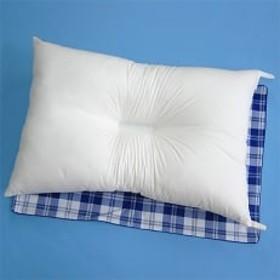 家庭で洗える 防ダニ・抗菌防臭枕 枕カバー ブルー2枚付き