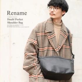 ショルダーバッグ ブランド Rename  バッグ 自転車 メッセンジャーバッグ メンズ 大人 鞄