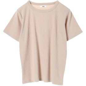 【オンワード】 koe(コエ) テレコ半袖Tシャツ Light Beige F レディース 【送料無料】