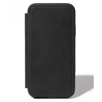 シンシア NOMAD/ノマドiPhone X/XS RUGGED FOLIO CASE Horween/ノマド ラギッド フォリオケース ホーウィンレザー ユニセックス ブラック ONE SIZE 【Sincere】