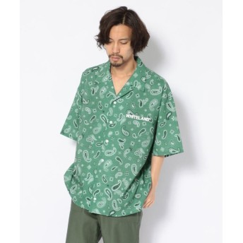 エルエイチピー WHITELAND/PAISLEY ショートスリーブシャツ メンズ GREEN F 【LHP】