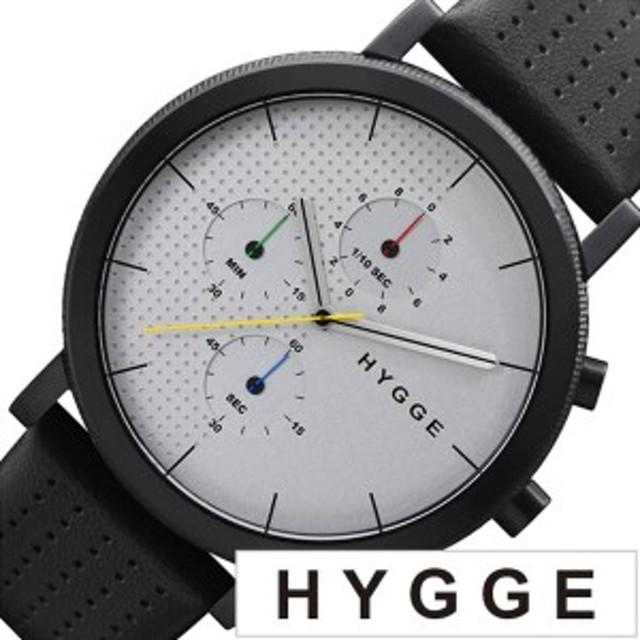 50d87935b4 ヒュッゲ 腕時計 HYGGE 時計 ヒュッゲ 時計 HYGGE 腕時計 2204 メンズ レディース ホワイト HGE020002 正規品 人気