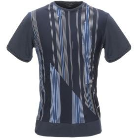 《期間限定 セール開催中》DANIELE ALESSANDRINI HOMME メンズ T シャツ ダークブルー M コットン 100% / シルク