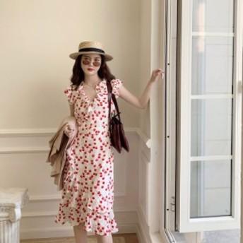 シックで優しいスーパー妖精の妖精のスカートの長い夏の新しいins小さな新鮮なセン非常に妖精のドレス