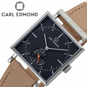 カールエドモンド 腕時計 CARLEDMOND 時計 グラニット Granit レディース チャコール CEG2952-N18