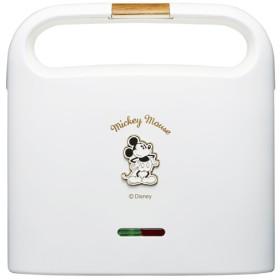 Disneyホットサンドメーカー ホワイト (1台)