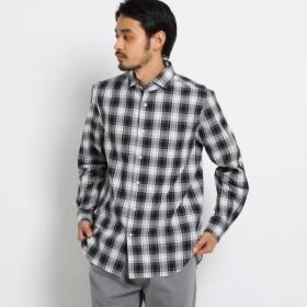 [マルイ]【セール】マドラスチェックシャツ/オペークドットクリップ(メンズ)(OPAQUE. CLIP Mens)