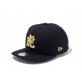 NEW ERA ニューエラ ストア限定 59FIFTY 阪神タイガース 漢字 虎 ブラック × メタリックゴールド ベースボールキャップ キャップ 帽子 メンズ レディース 7 1/2 (59.6cm) 11136360 NEWERA