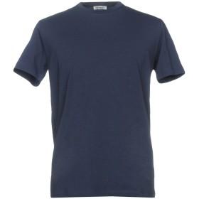 《期間限定セール開催中!》BIKKEMBERGS メンズ T シャツ ダークブルー XL 94% コットン 6% ポリウレタン