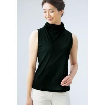 【レディース】 ロイヤルリッチ綿100%ノースリーブ ■カラー:ブラック ■サイズ:LL,M-L
