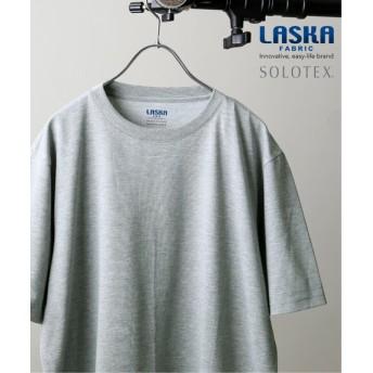 JOURNAL STANDARD 【LASKA】×【SOLOTEX】PLATE クルーネック グレーA S