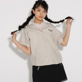 [マルイ]【セール】開襟シャツ+レースノースリ セット/ピンク ラテ(PINK latte)
