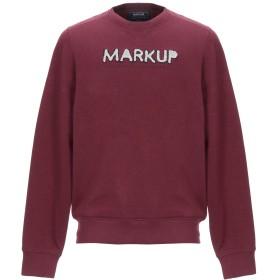 《期間限定セール開催中!》MARKUP メンズ スウェットシャツ ディープパープル L コットン 80% / ポリエステル 20%