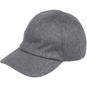 《期間限定セール開催中!》ELEVENTY メンズ 帽子 鉛色 M カシミヤ 100%