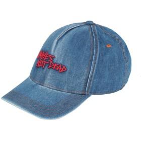 《期間限定 セール開催中》DIESEL メンズ 帽子 ブルー I コットン 100%