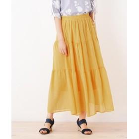 SHOO・LA・RUE(シューラルー) ティアードデザインスカート