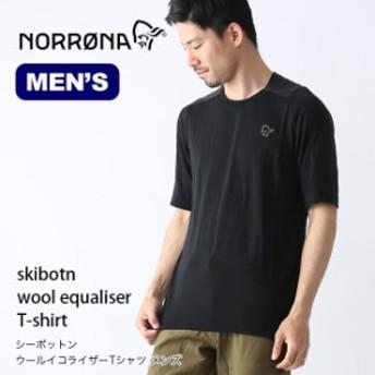 Norrona ノローナ シーボットン ウールイコライザーTシャツ メンズ