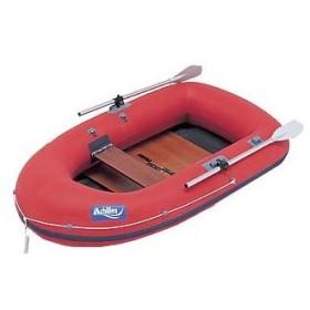 ゴムボート アキレス EC2-521 2名/船内長137 レッド ボート単体
