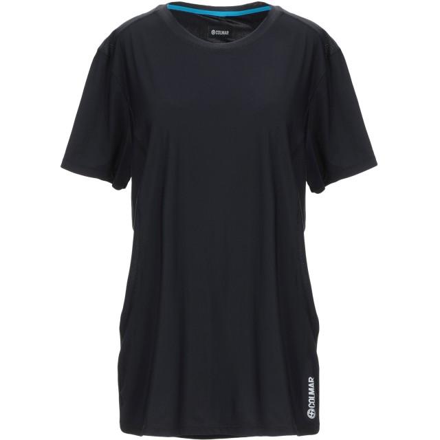 《期間限定セール開催中!》COLMAR レディース T シャツ ブラック XL ナイロン 73% / ポリウレタン 27%