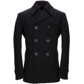 《期間限定セール開催中!》BRIAN DALES メンズ コート ブラック 52 ウール 80% / ナイロン 20%