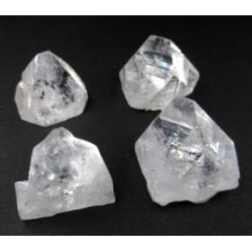 クリアアポフィライト ピラミッド型原石 4個セット H&E社 プログラミング済み apo138