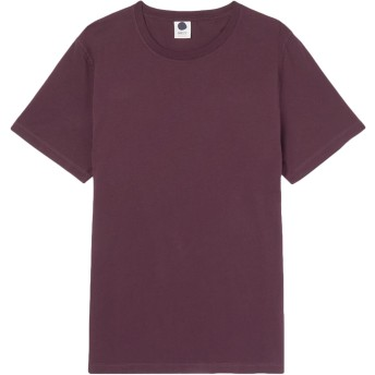《期間限定セール開催中!》NN07 メンズ T シャツ ディープパープル L ピマコットン 100%