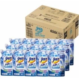 アタック 抗菌EX スーパークリアジェル 洗濯洗剤 詰め替え 梱販売用(770g15コ入)[つめかえ用洗濯洗剤(液体)]【送料無料】