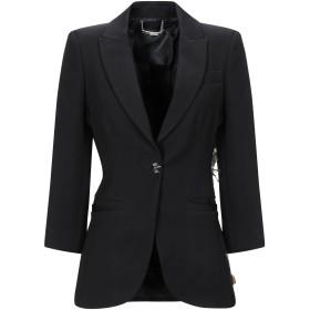 《期間限定セール開催中!》PHILIPP PLEIN レディース テーラードジャケット ブラック S ポリエステル 100%