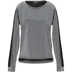 《セール開催中》!MERFECT レディース スウェットシャツ グレー XS ナイロン 44% / レーヨン 39% / ポリエステル 10% / ポリウレタン 7%