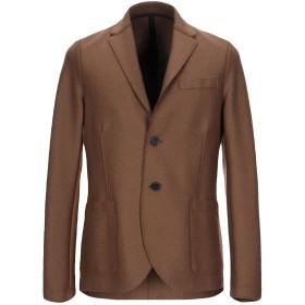 《期間限定セール開催中!》HARRIS WHARF LONDON メンズ テーラードジャケット キャメル 48 バージンウール 100%