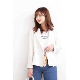 ◆リネンライクジャケット エクリュ1