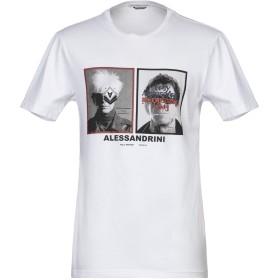 《セール開催中》GREY DANIELE ALESSANDRINI メンズ T シャツ ホワイト S コットン 100%