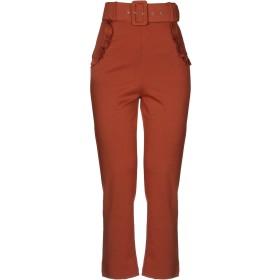 《セール開催中》PEPITA レディース パンツ 赤茶色 42 レーヨン 65% / ナイロン 30% / ポリウレタン 5%
