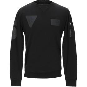《セール開催中》REPLAY メンズ スウェットシャツ ブラック S コットン 100%
