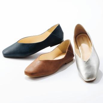 【格安-女性靴】レディース2WAYソフト素材スクエアトゥカジュアルシューズ