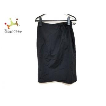 エンポリオアルマーニ EMPORIOARMANI スカート サイズ38 S レディース 美品 黒 スペシャル特価 20190911
