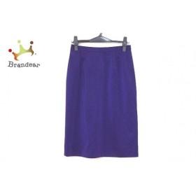 ミズレイコ MS.REIKO スカート サイズ9 M レディース 美品 パープル   スペシャル特価 20190903