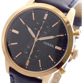 フォッシル FOSSIL 腕時計 メンズ FS5436 クォーツ ダークネイビー