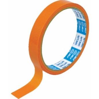 ニトムズ PEクロステープ 15mmx10m 橙 J6809
