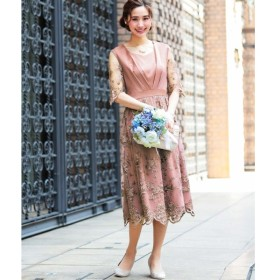 [マルイ] 結婚式 ワンピース パーティードレス/ファッションレター(Fashion Letter)