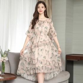 ツーピースの長いケーキのドレスのドレスを細くするスーパーファイヤー夏の新しいファッション