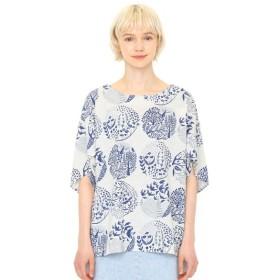graniph グラニフ ボートネックチューリップ袖Tシャツ