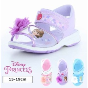 ◆ディズニープリンセス サンダル ベビー キッズ 15 16 17 18 19cm スニーカー 女の子 夏 靴子供 ベビーサンダル キッズサンダル ベビー