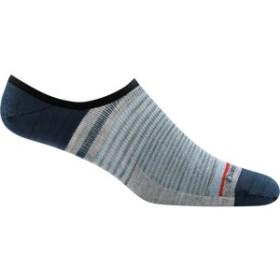 ダーンタフ メンズ 靴下 アンダーウェア Topless Stripe No Show Light Sock - Men's Blue
