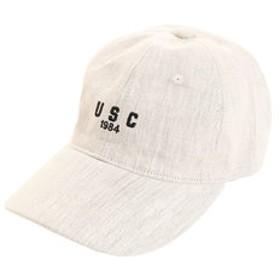【SALE/送料無料】【Super Sports XEBIO & mall店:帽子】リネン刺繍キャップ USC 897PA9ST1696 NTL