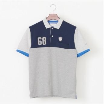 [マルイ]【セール】鹿の子切り替え半袖ポロシャツ/ゴールデンベア(メンズ)(GoldenBear)