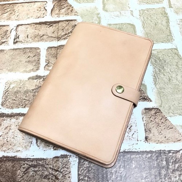 iPad air 3 / iPad pro 10.5インチ用 栃木レザー iPadケースヌメ革 本革 タブレットケース