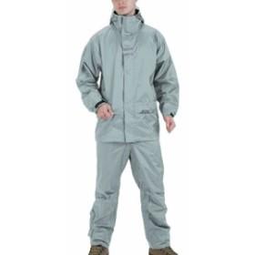 ロゴス(LOGOS) メンズ リプナー バックパック レインスーツ シルバー Lサイズ 23716762 【雨具 カッパ アウター 上下セット レインウェ
