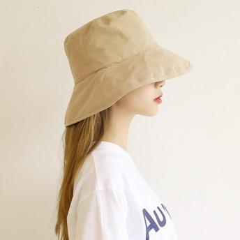 (ファッション帽子)ウォッシング無地女性オ・バフェットボンゴジ女性の帽子の男のバケットハット/特価セール