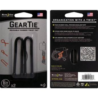 ヘッドホンキーパーツ GEAR TIE 6inc GT62PK01